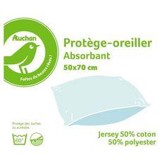 POUCE Protège oreiller absorbant en polycoton PUNTO
