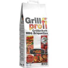 GRILLPROF BBQ BRIQUETTES 3KG