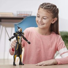 HASBRO Figurine Cybervilain Gold Robot-Blaze 30 cm - Power Rangers Beast Morphers