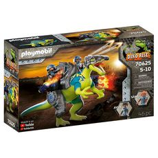 PLAYMOBIL 70625 - Dino Rise Spinosaure et combattants