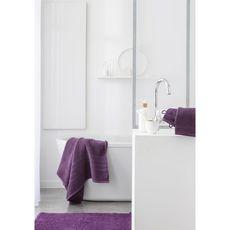 TODAY Tapis de bain uni en polyester 1500G/M²  BUBBLE (Violet)