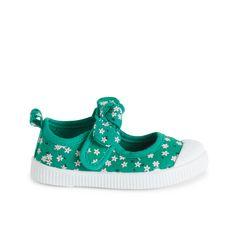 IN EXTENSO Sandales en toile bébé fille (Vert)