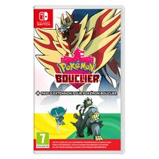 NINTENDO Pokémon Bouclier + Pass Extension Pokémon Bouclier Nintendo Switch