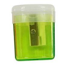 POUCE Taille-crayons avec reservoir 1 trou Vert