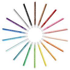 BIC Etui de 18 feutres de coloriage pointe moyenne KID COULEUR