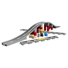 LEGO DUPLO 10872 - Les rails et le pont du train