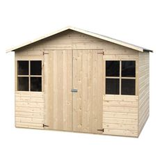 Abri de jardin bois STOW  4.86m² avec plancher