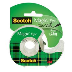 SCOTCH Dévidoir avec ruban adhésif Magic 25mx19mm
