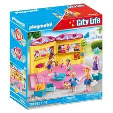 PLAYMOBIL 70592 - City Life - Boutique de mode pour enfants