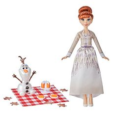 HASBRO Disney Frozen II - Pique-nique automnal d'Anna et Olaf