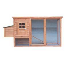 Habita Poulailler standard / 1,50 m2 / 3-4 poules / toit bitumé 1 pente