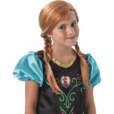 RUBIES Perruque Anna - La reine des neiges