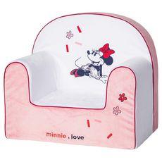 DISNEY Fauteuil club classique déhoussable Minnie Confettis