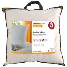 ACTUEL Oreiller confort moelleux en microfibre anti-acariens