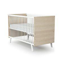 Lit bébé sommier réglable 60x120cm DOUCEUR