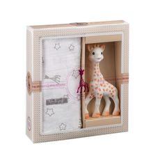 VULLI Coffret Sophie la girafe + Lange 120 x 120 cm
