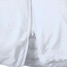 BLEUCALIN Couette 2 parties reliées par zip SEGMENTABLE (Blanc)