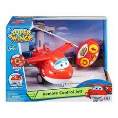 Auldey Jett Super Wings radiocommandé avec musique rouge