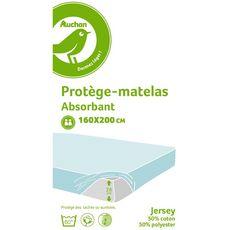 POUCE Protège matelas absorbant en polycoton PUNTO