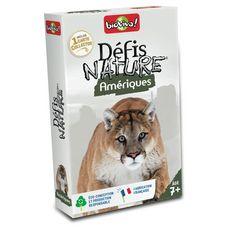 BIOVIVA Défis Nature Amérique 36 cartes collector 1 jeu