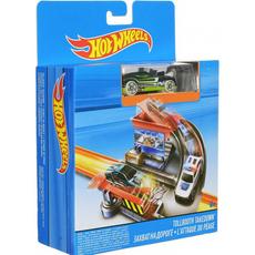 MATTEL Hot Wheels City - L'attaque du péage - Circuit + véhicule