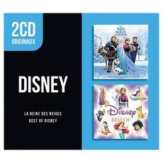 Coffret 2 CD Best Of Disney La reine des Neiges