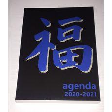 POUCE Agenda scolaire journalier signe chinois noir et bleu 2021-2022
