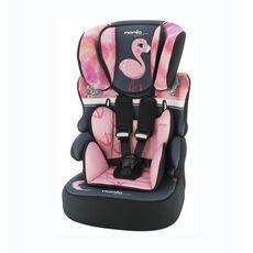 NANIA Siège auto groupe 1/2/3 Beline Flamingo