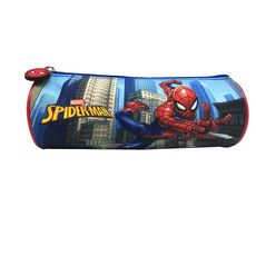 Trousse ronde Héros bleu Spiderman