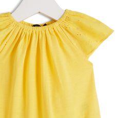 IN EXTENSO Ensemble legging + robe bébé fille (Jaune)