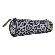 YOUNG'S ATTITUDE Trousse scolaire ronde polyester imprimé léopard