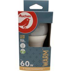 Ampoule LED Standard E27 60W Couleur chaude