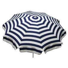 Parasol droit diam 240cm bleu CANCALE
