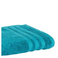 ACTUEL Serviette invité unie en coton  500 g/m² (Bleu canard )