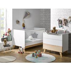 Bébé Provence Lit bébé évolutif 70X140 cm Elea