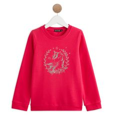 IN EXTENSO Sweat cheval fille