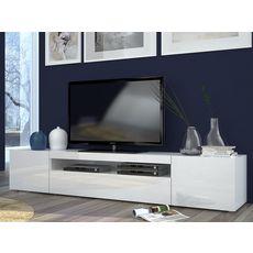 Meuble TV 3 portes 1 niche TECHNO L200cm