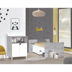 BABY PRICE  Tiroir pour lit combiné Evolutif SCANDI, coloris blanc