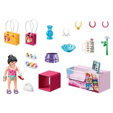 PLAYMOBIL 70594 - City Life - Boutique accessoires de mode