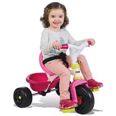 SMOBY Tricycle be fun fille
