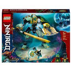 LEGO NINJAGO 71750 - Le robot Hydro de Lloyd dès 7 ans