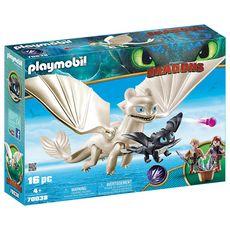 PLAYMOBIL 70038 - Dragons - Furie Éclair et bébé dragon enfants