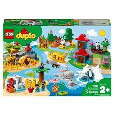 LEGO DUPLO 10907 - Les animaux du monde