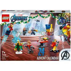 LEGO Marvel 76196 Le Calendrier de l'Avent des Avengers