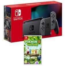 EXCLU WEB Console Nintendo Switch Joy-Con Gris + Pikmin 3 Nintendo Switch
