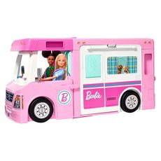 BARBIE Camping-car de rêve 3 en 1 Barbie