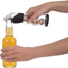 TRUDEAU Ouvre bouteille avec contenant à capsules