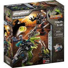 PLAYMOBIL 70624 - Dino Rise Tyrannosaure et  robot géant