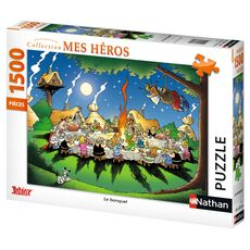 Puzzle 1500 pièces Le banquet Astérix