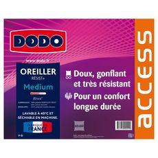 DODO Oreiller médium en microfibre ACCESS THERMOLITE RESIST (Blanc)